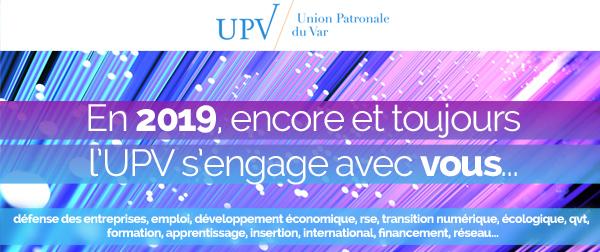 Voeux 2019 de l'Union Patronale du Var