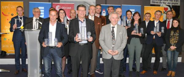 Six lauréats pour la 7ème édition du Top500 Var Entreprises