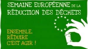 Semaine européenne de la réduction des déchets 2019 du 16 au 24 novembre