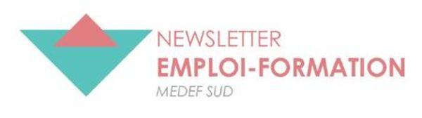 Newsletter Emploi-Formation Medef Sud - octobre 2019