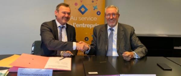 Un partenariat renouvelé Banque de France et UPV au service des entreprises