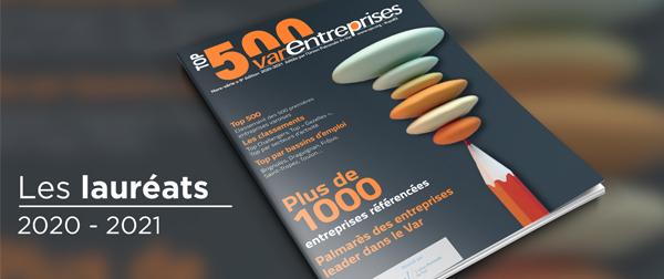 Les lauréats du TOP500 édition 2020 - 2021