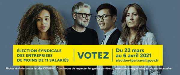 Élection syndicale TPE 2021