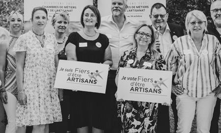 Fiers d'être Artisans, découvrez les membres de la liste dans le Var